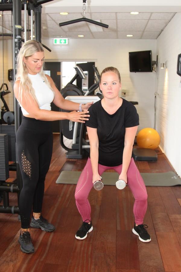 Oefening billen en benen